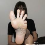 Belle fille avec des pieds sexy 53
