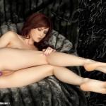Belle fille avec des pieds sexy 61