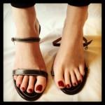 De longues jambes et pieds sexy 06