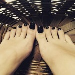 De longues jambes et pieds sexy 49