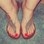 Doigts de pieds sexy 11