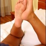 Fétichisme des pieds sexy avec du footjob en photos 50