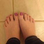 Petits pieds sexy 30