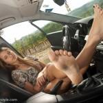 Petits pieds sexy 40