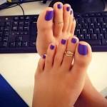 Petits pieds sexy 44