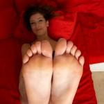 Sexy fétichisme du pied filles 34