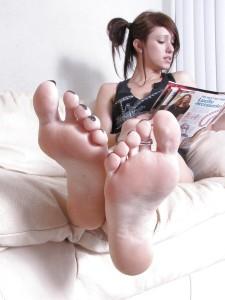 Sexy fétichisme du pied filles 61