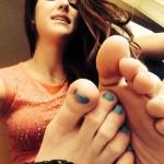 Sexy fétichisme du pied filles 73