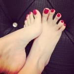 Les sandales de la soeur de ma femme