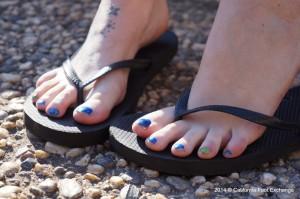 pieds sexy du web de femme en collants 22
